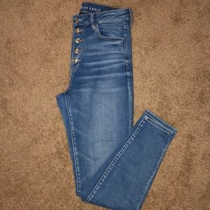 American Eagle Super High Rise Jeggings - Size 10